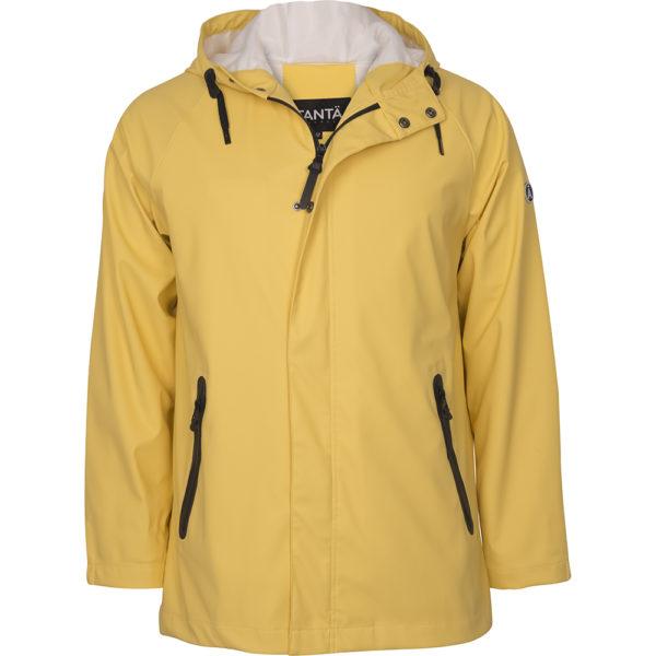 gele heren regenjas Kise geel regenjas