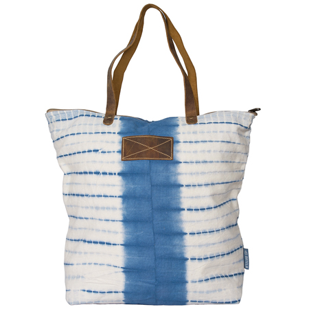 SHOPPER JANNEKE NAVY/WHITE